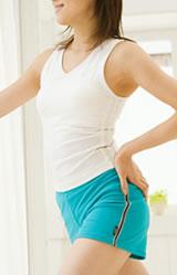 腹式呼吸で気になる骨盤底筋も鍛えましょう
